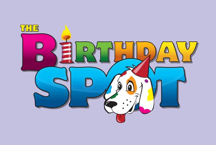 The Birthday Spot Branding