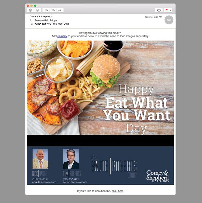 Comey & Shepherd E-Mail Marketing