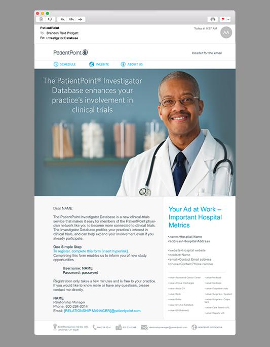 PatientPoint E-Mail Marketing