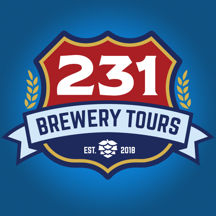 231 Brewery Tours Branding
