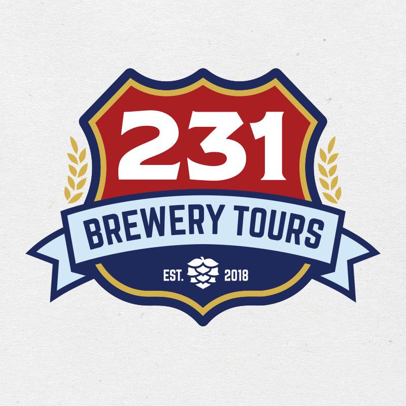 231 Brewery Tours: Logo Development