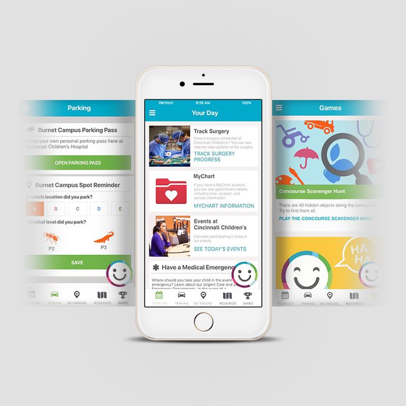 CCHMC: Caren App UI