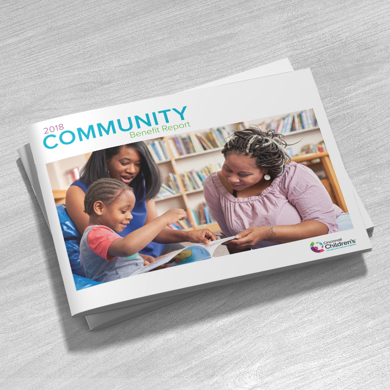 CCHMC: Community Benefit Report Brochure